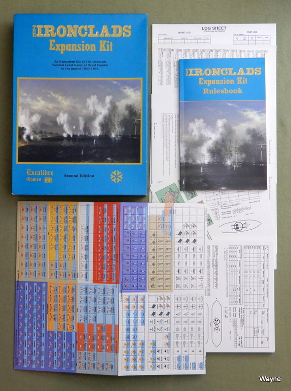 Image for The Ironclads Expansion Kit, a Tactical Game of Naval Combat in the Period 1860-7, 2nd Edition