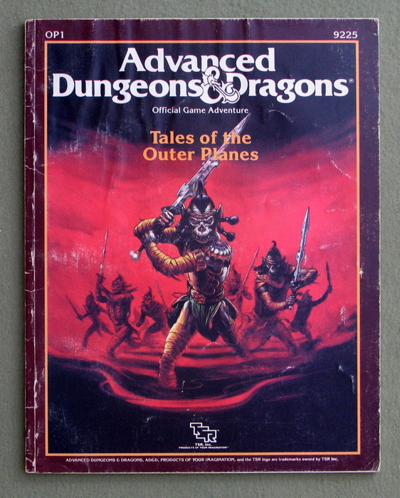 Image for Tales of the Outer Planes (Advanced Dungeons & Dragons Module OP1) - PLAY COPY