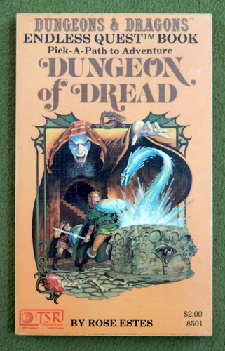 Image for Dungeon of Dread (Endless Quest Book 1: Dungeons & Dragons)