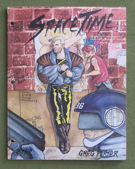Image for SpaceTime: Science fiction role-playing in the post apocalyptic 24th century (Space Time)