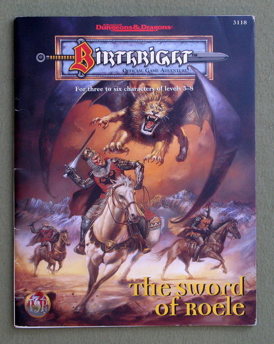 Image for The Sword of Roele (Advanced Dungeons & Dragons: Birthright Adventure)