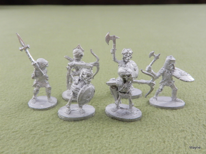 Image for Armored Skeletons (6 Grenadier miniatures)