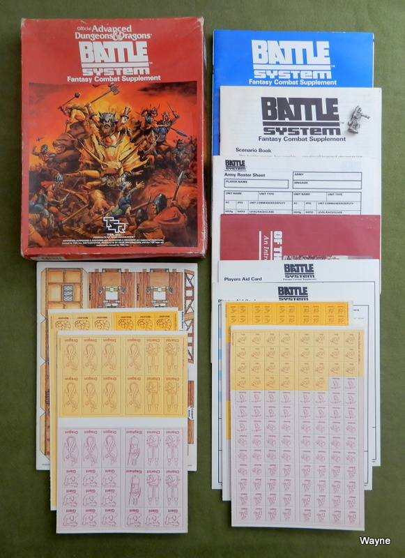 Image for Battlesystem: Fantasy Combat Supplement (Advanced Dungeons & Dragons) - PLAY SET