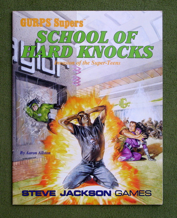 Image for School of Hard Knocks (GURPS Supers)