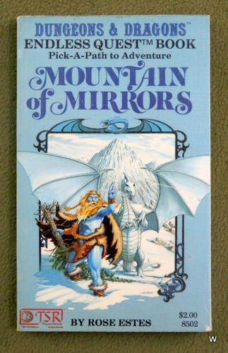 Image for Mountain of Mirrors (Endless Quest Book 2: Dungeons & Dragons)