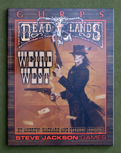 Image for GURPS Deadlands: Weird West