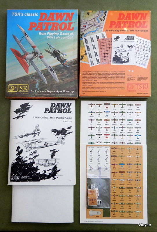 Image for Dawn Patrol: Role Playing Game of WWI Air Combat