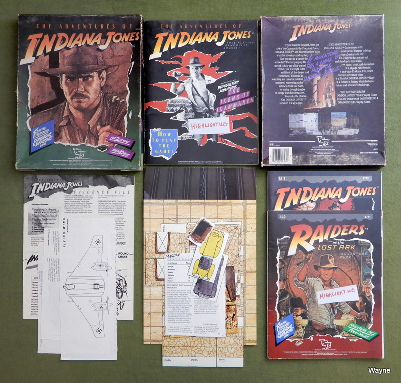 Image for Adventures of Indiana Jones RPG - BONUS PLAY SET
