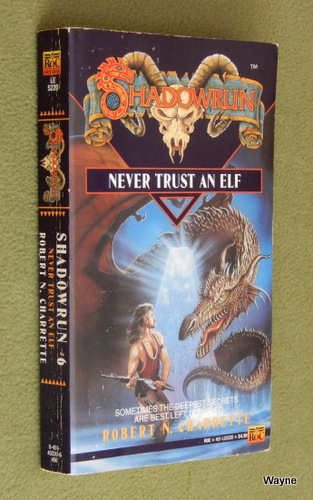 Image for Never Trust an Elf (Shadowrun) - SIGNED