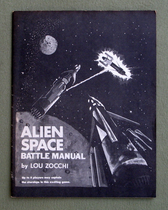 Image for Alien Space Battle Manual