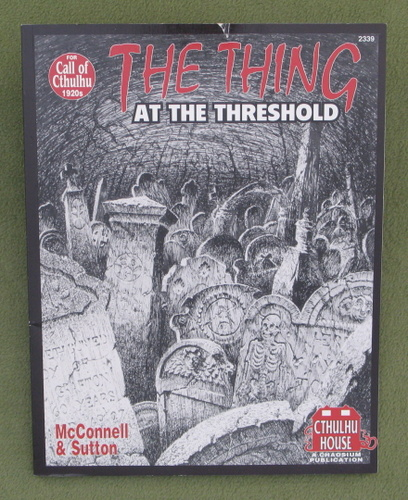 Image for The Thing at the Threshold (Call of Cthulhu)