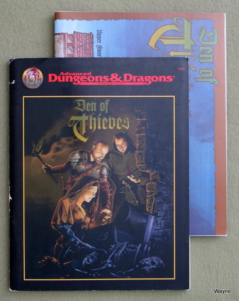 Image for Den of Thieves (Advanced Dungeons & Dragons)