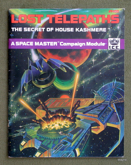 Image for The Lost Telepaths: The Secret of House Kashmere (Space Master RPG)