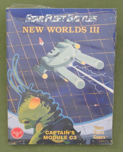 Image for New Worlds III Captain's Module C3 (Star Fleet Battles)