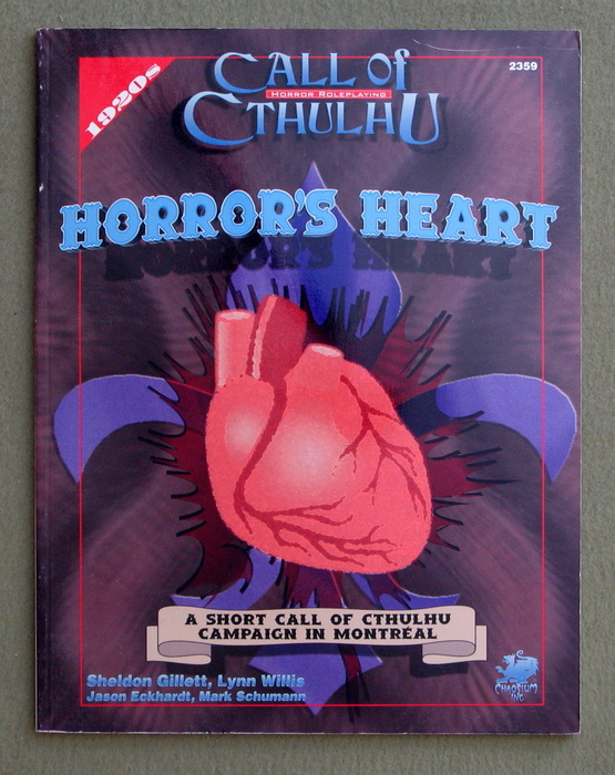 Image for Horror's Heart (Call of Cthulhu)