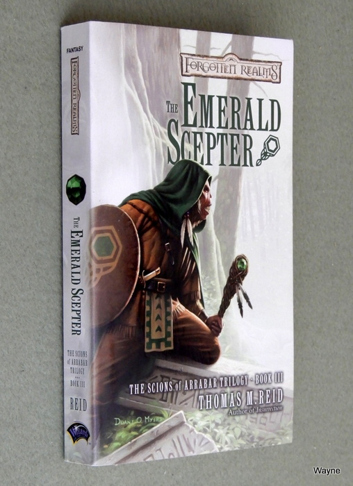 Image for The Emerald Scepter (Forgotten Realms: The Scions of Arrabar, Book 3)