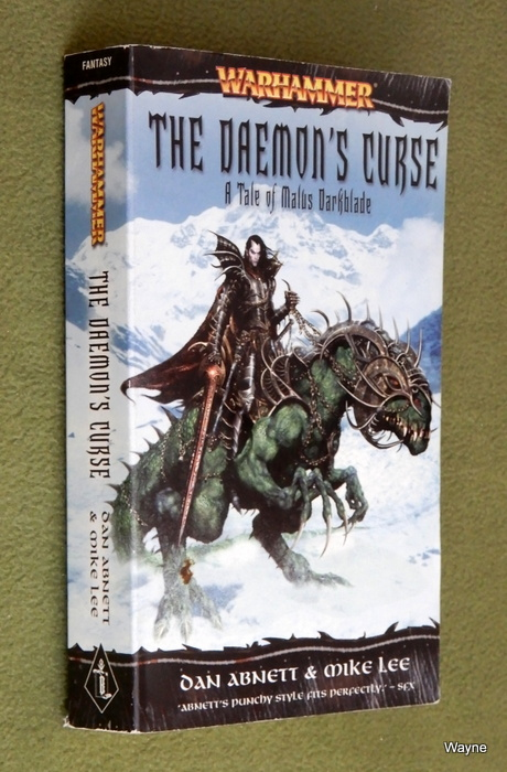 Image for The Daemon's Curse: A Tale of Malus Darkblade (A Warhammer Novel)