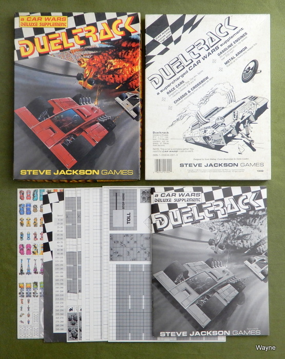 Image for Dueltrack: A Supercharged Car Wars Supplement