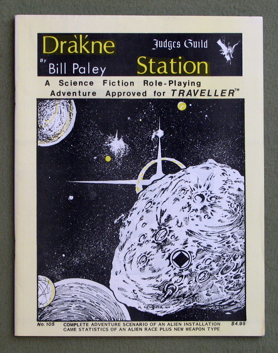 Image for Dra'k'ne (Drakne) Station: A Science Fiction Role-Playing Adventure Approved for Traveller