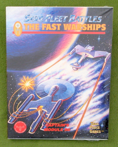 Image for Fast Warships: Captain's Module R6 (Star Fleet Battles)