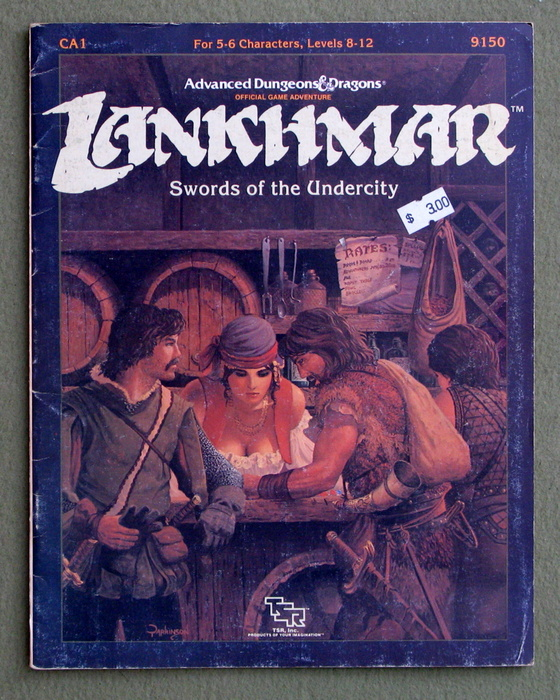 Image for Swords of the Undercity (Advanced Dungeons & Dragons/Lankhmar Module CA1) - PLAY COPY