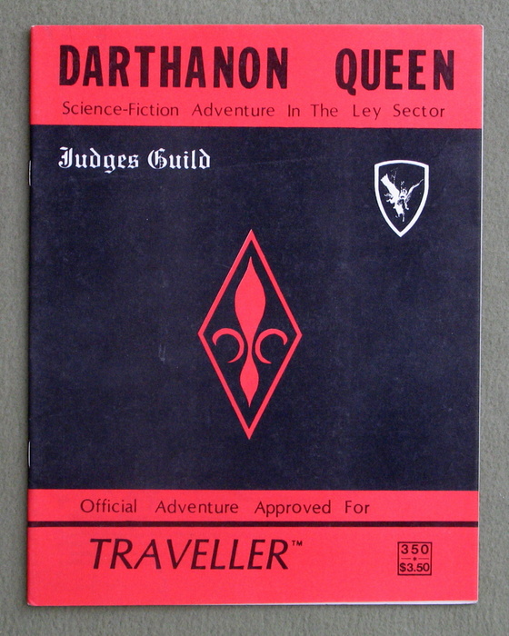 Image for Darthanon Queen: Science Fiction Adventure in the Ley Sector (Traveller)