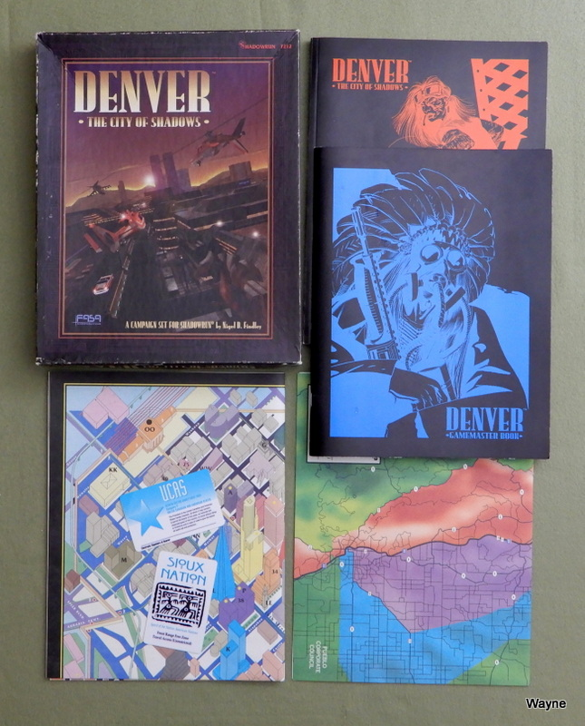Image for Denver: The City of Shadows (Shadowrun)