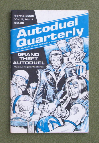 Image for Autoduel Quarterly: Vol. 3, No. 1 (Car Wars)
