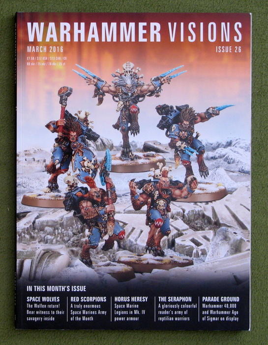 Image for Warhammer Visions, Issue 26 (March 2016)
