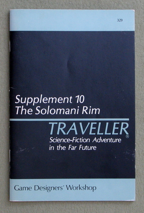 Image for Traveller Supplement 10: The Solomani Rim