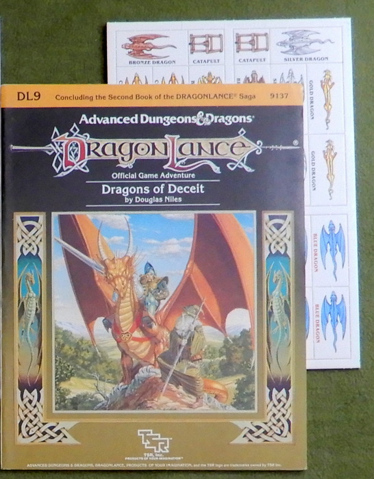 Image for Dragons of Deceit (Advanced Dungeons & Dragons/Dragonlance Module DL9)