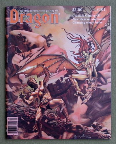 Image for Dragon Magazine, Issue 101