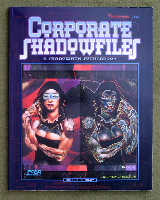 Image for Corporate Shadowfiles: A Shadowrun Sourcebook