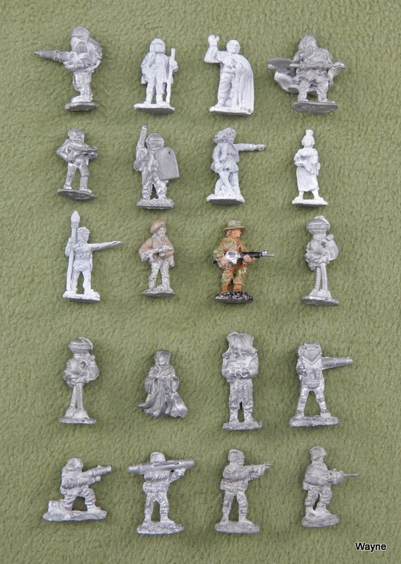 Image for Gamma World Adventurers (20 Grenadier miniatures)