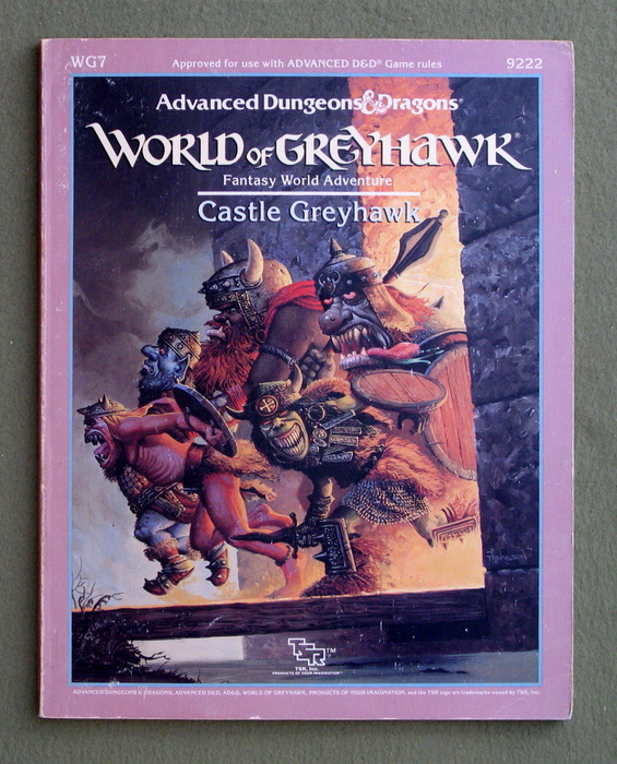 Image for Castle Greyhawk (Advanced Dungeons & Dragons Module WG7)