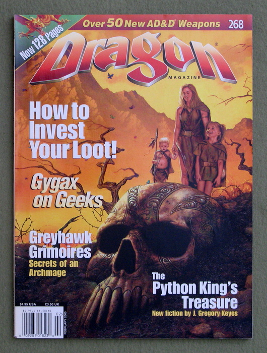 Image for Dragon Magazine, Issue 268