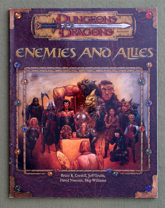 Image for Enemies and Allies (Dungeons & Dragons D20)