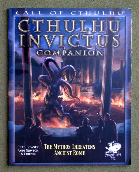 Image for Cthulhu Invictus Companion: The Mythos Threatens Ancient Rome (Call of Cthulhu roleplaying)