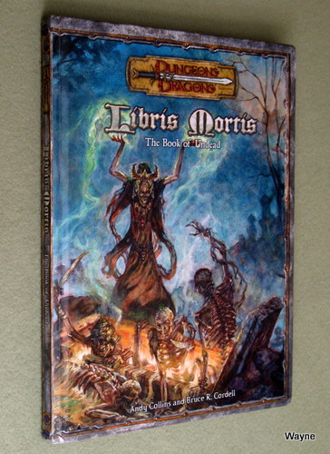 Image for Libris Mortis: The Book of the Undead (Dungeons & Dragons: D20 system)