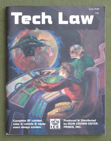 Image for Tech Law: Complete SF Combat Rules & Vehicle & Equipment Design System (Space Master)