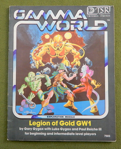 Image for Legion of Gold (Gamma World) - WRITING - PLAY COPY