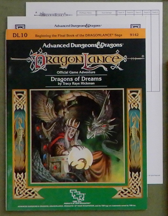 Image for Dragons of Dreams (Advanced Dungeons & Dragons: Dragonlance Module DL10)