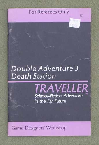 Image for Traveller Double Adventure 3: The Argon Gambit / Death Station - PLAY COPY