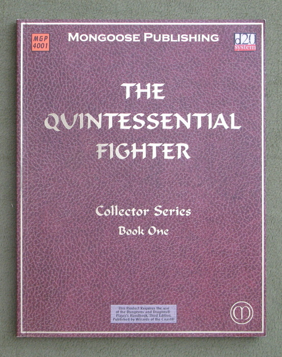 Image for The Quintessential Fighter (Dungeons & Dragons: D20 system)