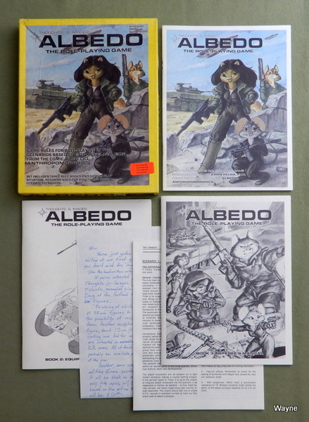 Image for Albedo: The Role Playing Game (1st Edition)