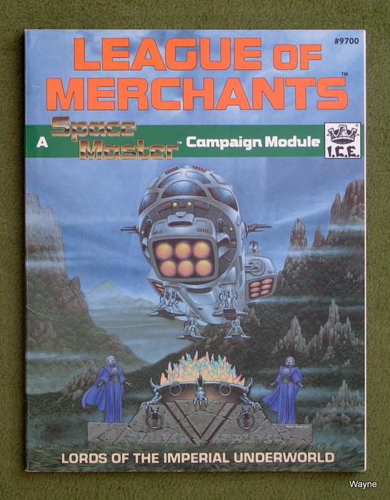 Image for League of Merchants (Space Master RPG)