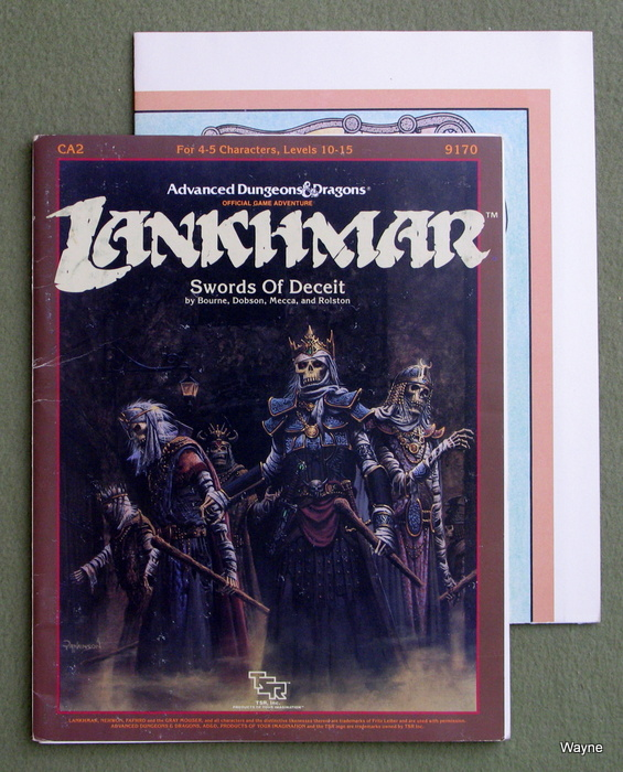Image for Swords of Deceit (Advanced Dungeons and Dragons/Lankhmar module CA2)