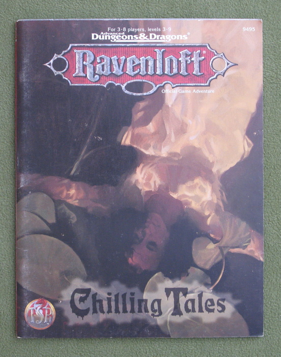 Image for Chilling Tales (Advanced Dungeons & Dragons: Ravenloft Adventure)