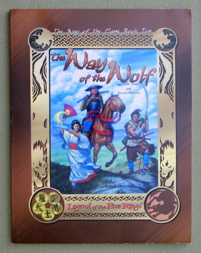 Image for The Way of the Wolf (Legend of the Five Rings: The Way of the Clans, Book 10)