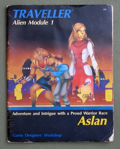Image for Aslan (Traveller Alien Module 1) - PLAY COPY